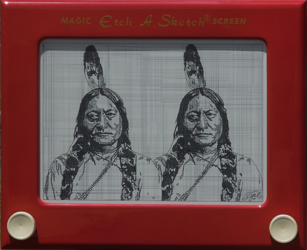 Ben Steele, Sketching Bull