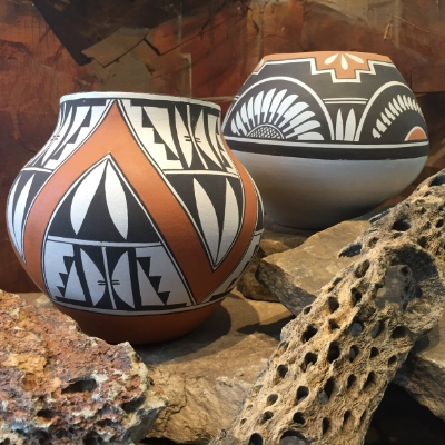 Acoma Pottery Modern West Fine Art