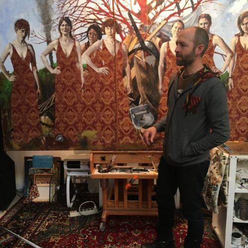 Nathan Florence Studio SLC UT, Modern West Fine Art