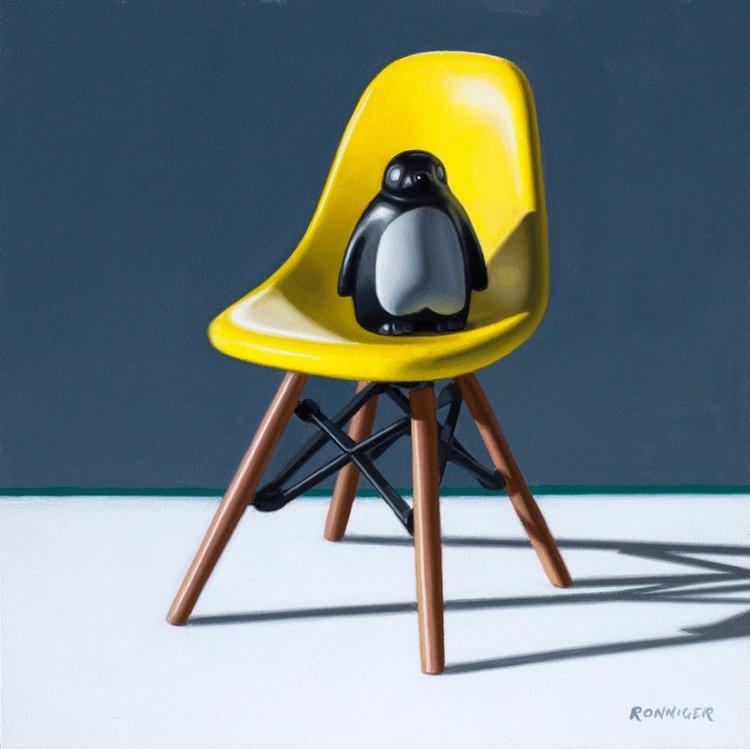 Yellow Eames Chair: Eames Penguin