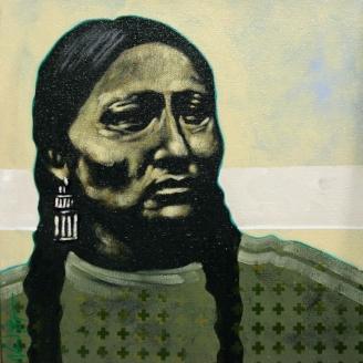 Nocona Burgess art opening modern west fine art
