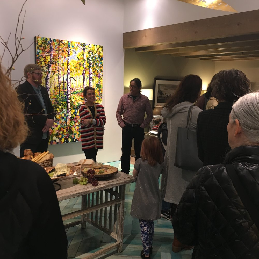 Shonto Begay Woody Shepherd Modern West Opening New works