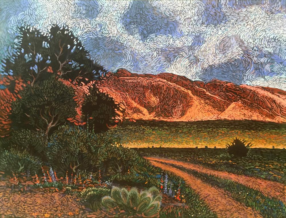 shonto begay modern west fine art landscape
