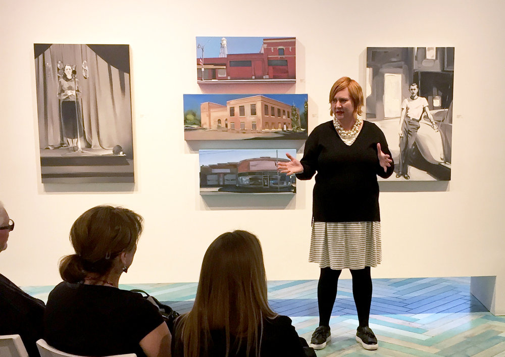 Rebecca Campbell Artist Discussion