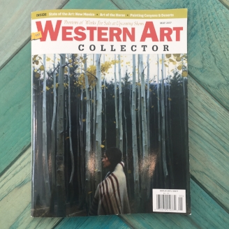 Western Art Collector modern west fine art diane stewart overton fawnhawk