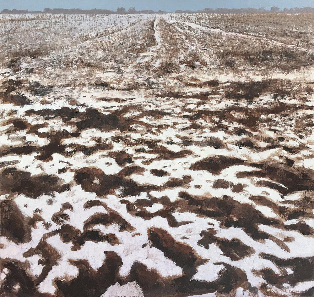 03_Gary+Ernest+Smith_First+Snow_oil+on+canvas_30+x+32-1.jpg