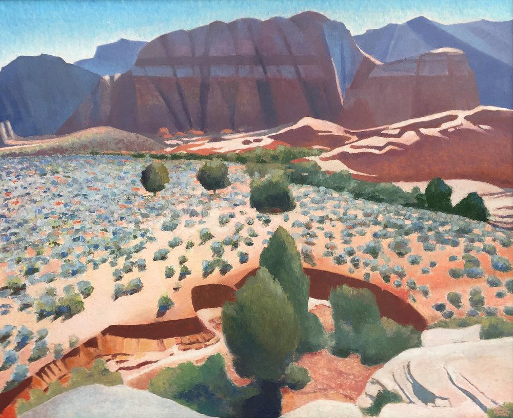 01_Gary+Ernest+Smith_Snow+Canyon_oil+on+canvas_60+x+48.jpg