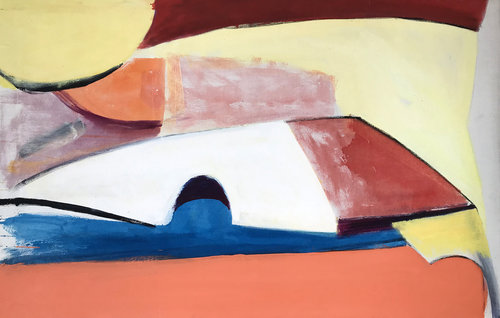 LouisRibak_BlueandPeachAbstract_oiloncanvas_50x32_1960's.jpg