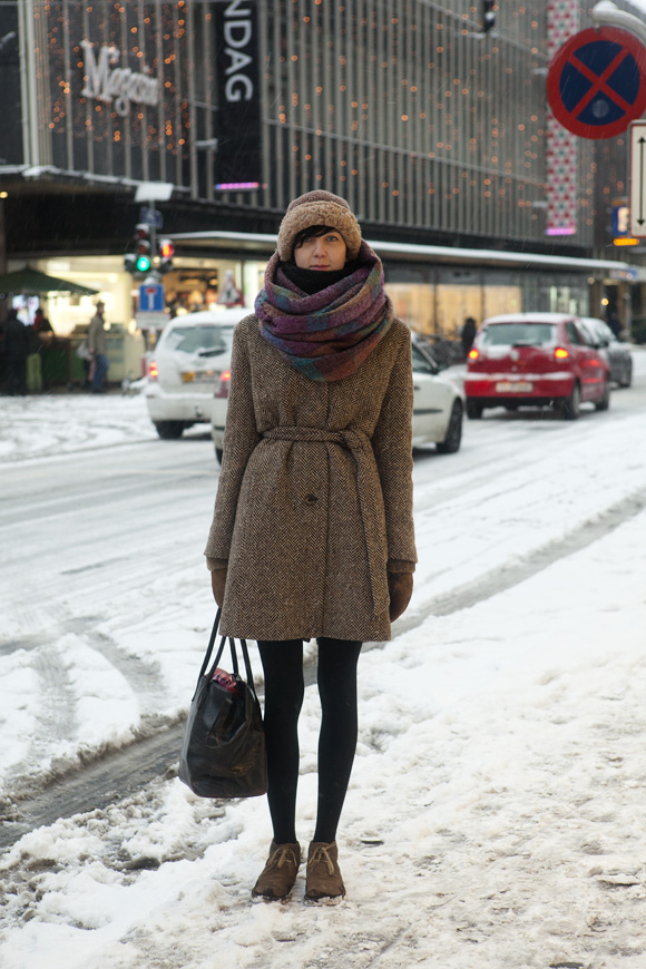 Wrapped Up The Locals Street Style From Copenhagen And