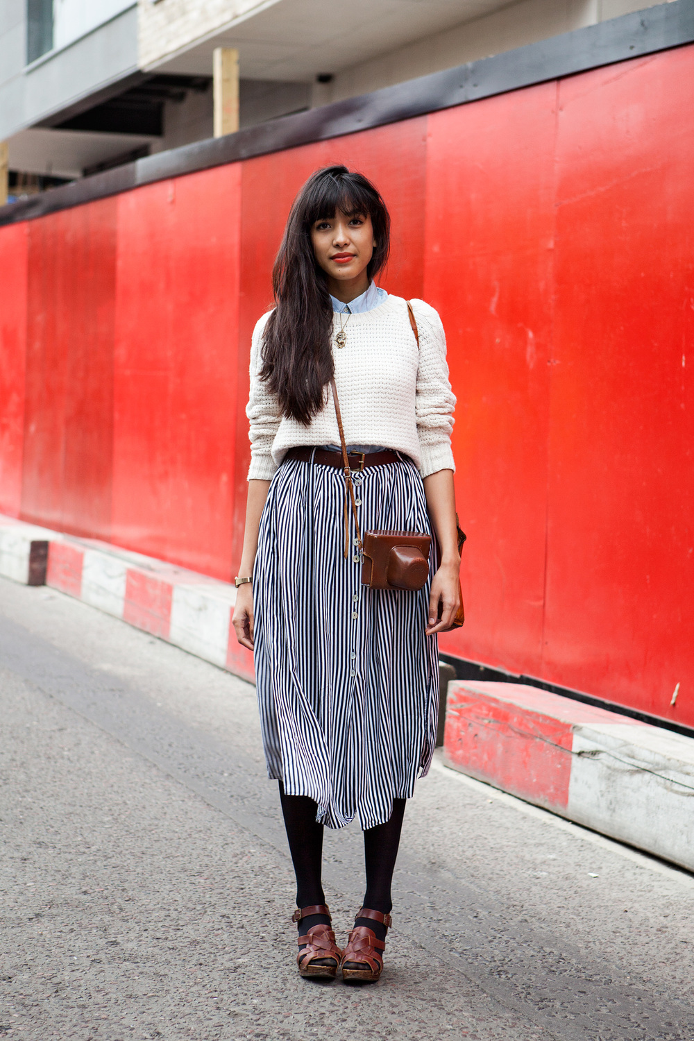 A French Girl In London The Locals Street Style From