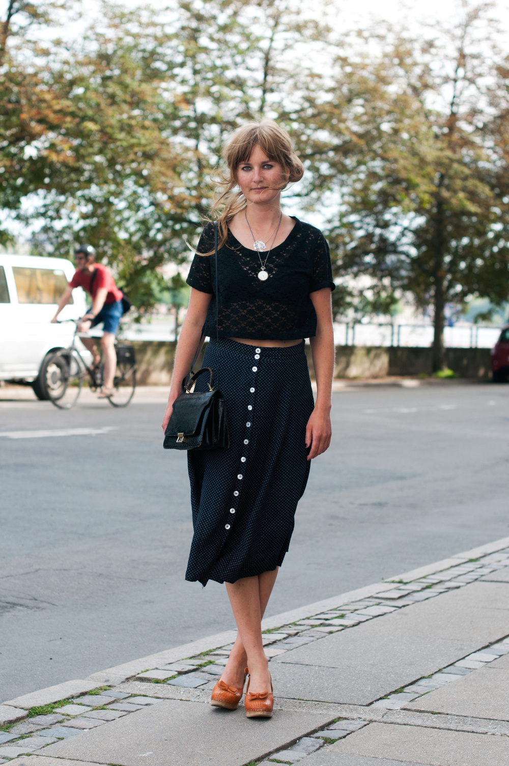 Scandinavian Classic The Locals Street Style From Copenhagen And Elsewhere