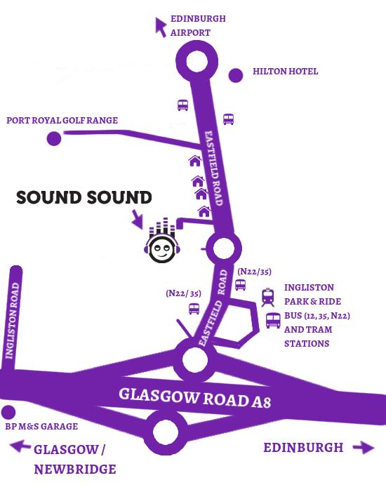 Sound Sound map