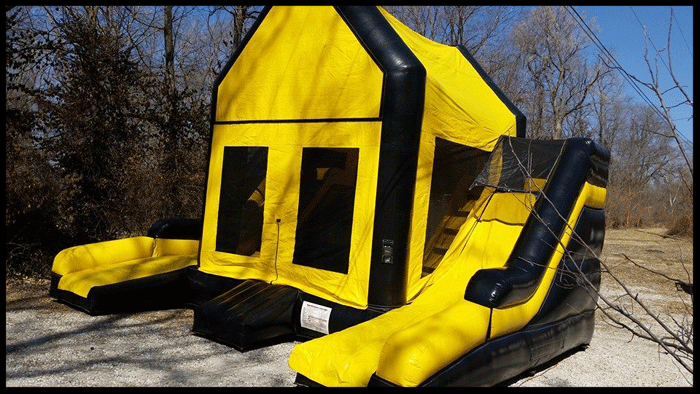 Dual Lane Slide Combo Party Rentals Kansas City
