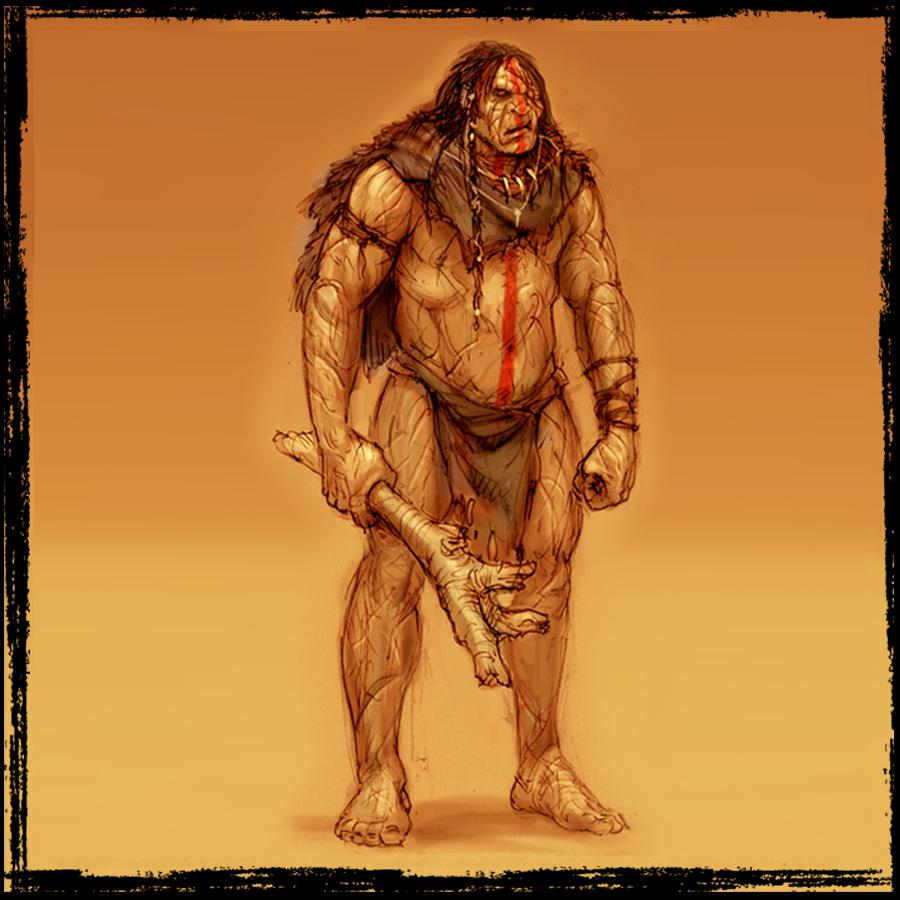 El Gigante inmortal.   La Fuerza y el odio encarnado en el Toqui de la Guerra no serán suficiente para encarar al Winka.