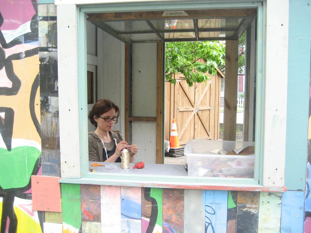 Habitat for Artists, Kingston LIbrary