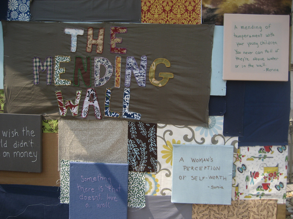The Mending Wall, Corcoran Gallery of Art
