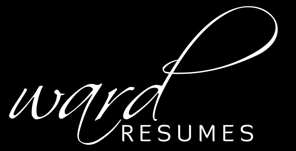 Ward Resumes Professional Resume Writers