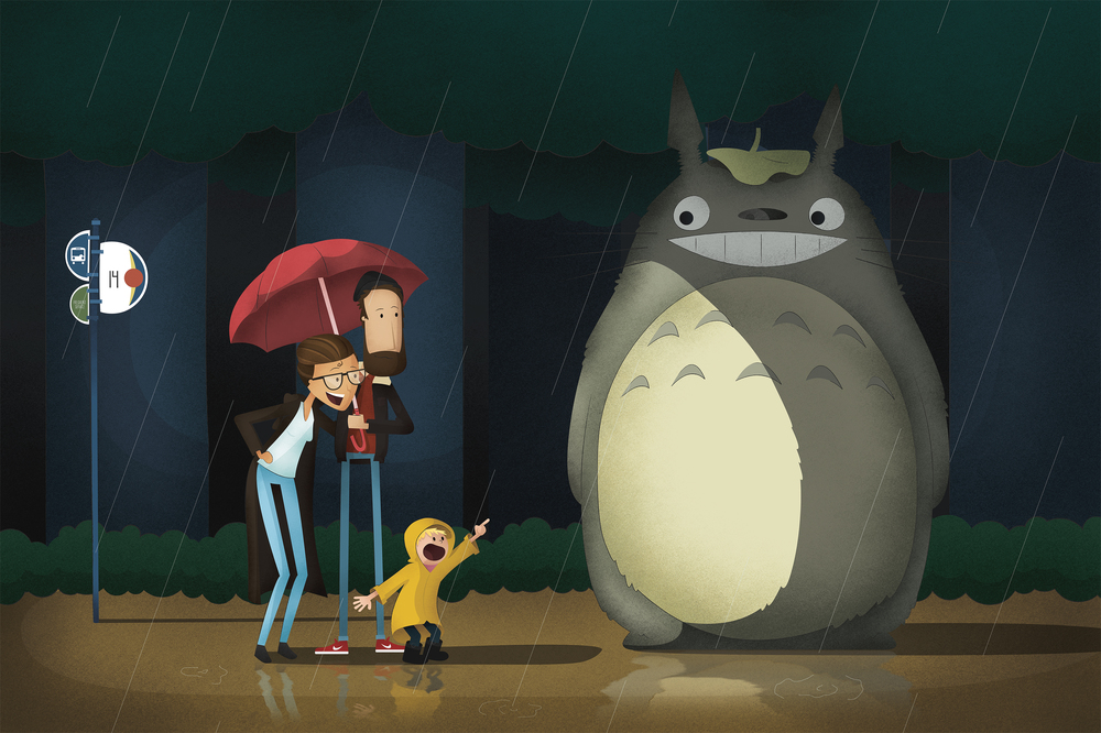 The Windsor's Neighbor Totoro