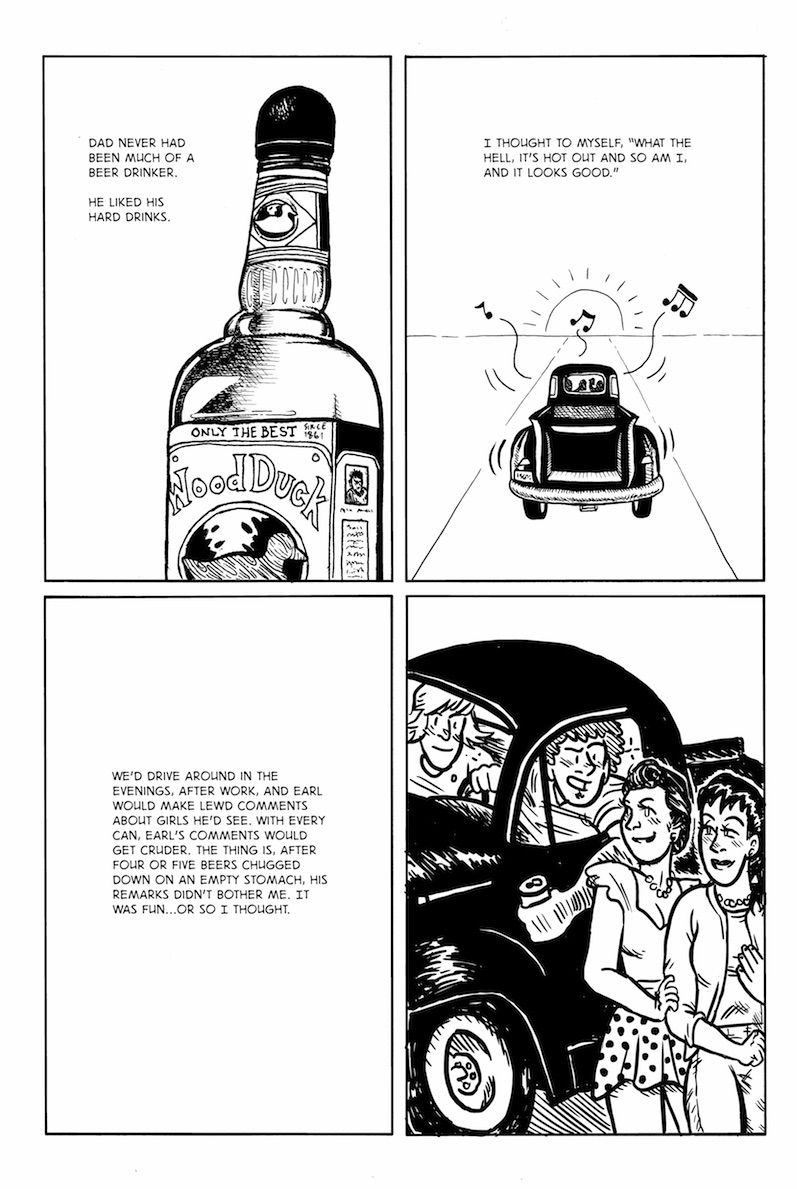 Sobriety A Graphic Novel Daniel D Maurer Kln Sbr Johnny Five Tumblr Pg 24