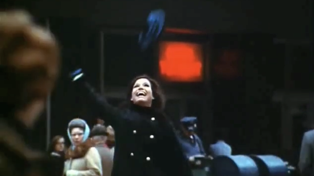 """You're gonna make it after all!""  / Mary Tyler Moore Show Opening / 1970 / MTM Productions"