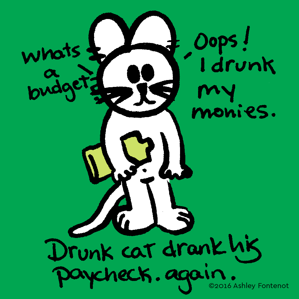 Drunk Cat Makes Bad Decisions