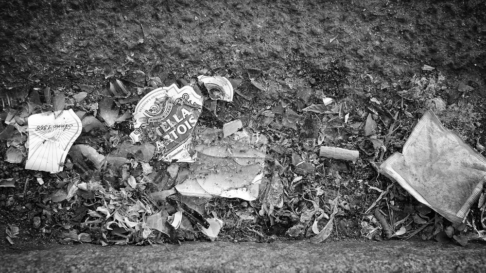 Things Crushed by Cars   [b/w edit by K+S] / Julian Stallbrass / 2013 / CC via Flickr