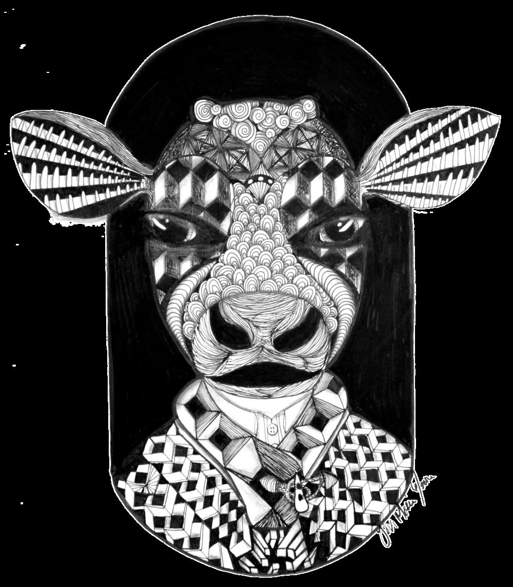 Vache Pas Si Sacr X
