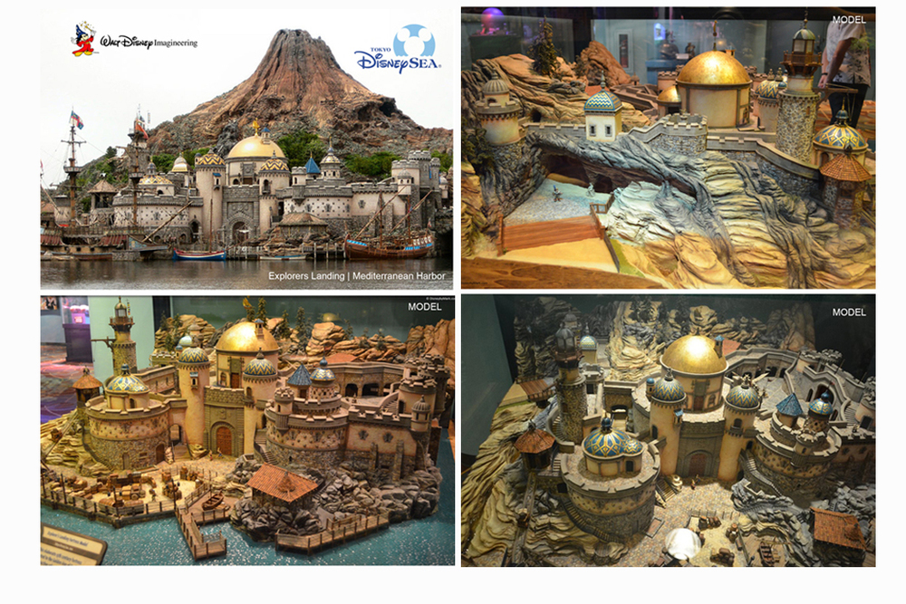 Disney Imagineering | Tokyo Disney Sea   Model Maker | Sculptor | Rockwork Engineer