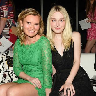 CEO, Becky Straw with Dakota Fanning
