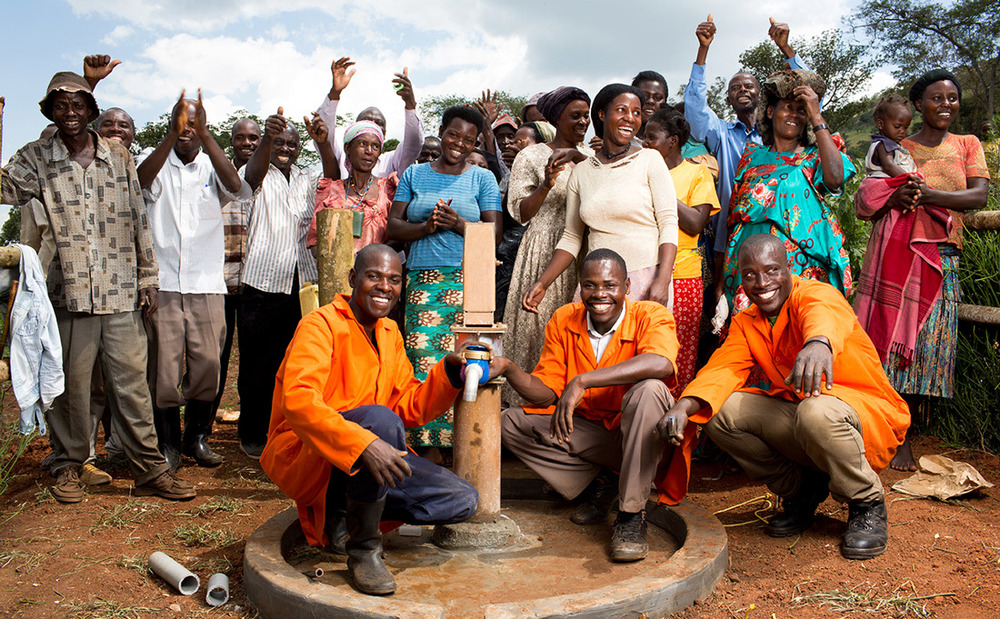 The only well in Rwebishahi village was broken for 8 months until Denis, Muhammad, and Godfrey fixed it. They learned how to become well mechanics thanks to supporters like you. So far, they have repaired 64 wells in Western Uganda.