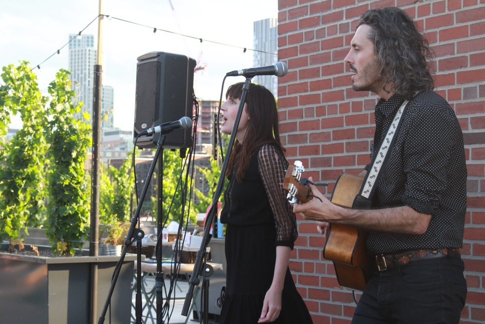 Indie-Rock duo the Falls gave a stellar performance