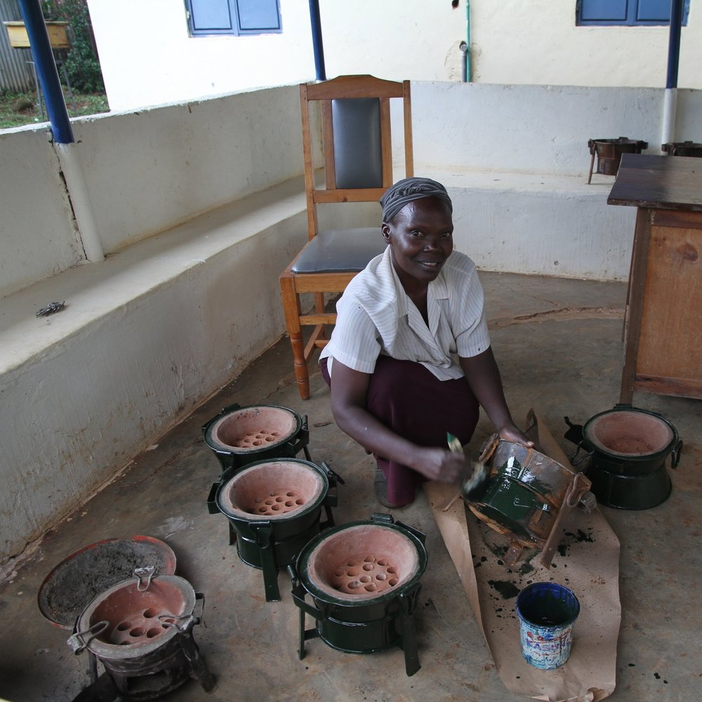 Hi, I'm Ruth - With your support, I'll expand my business with a new distribution outlet to reach more customers.I love telling others about the health benefits of my cookstoves!