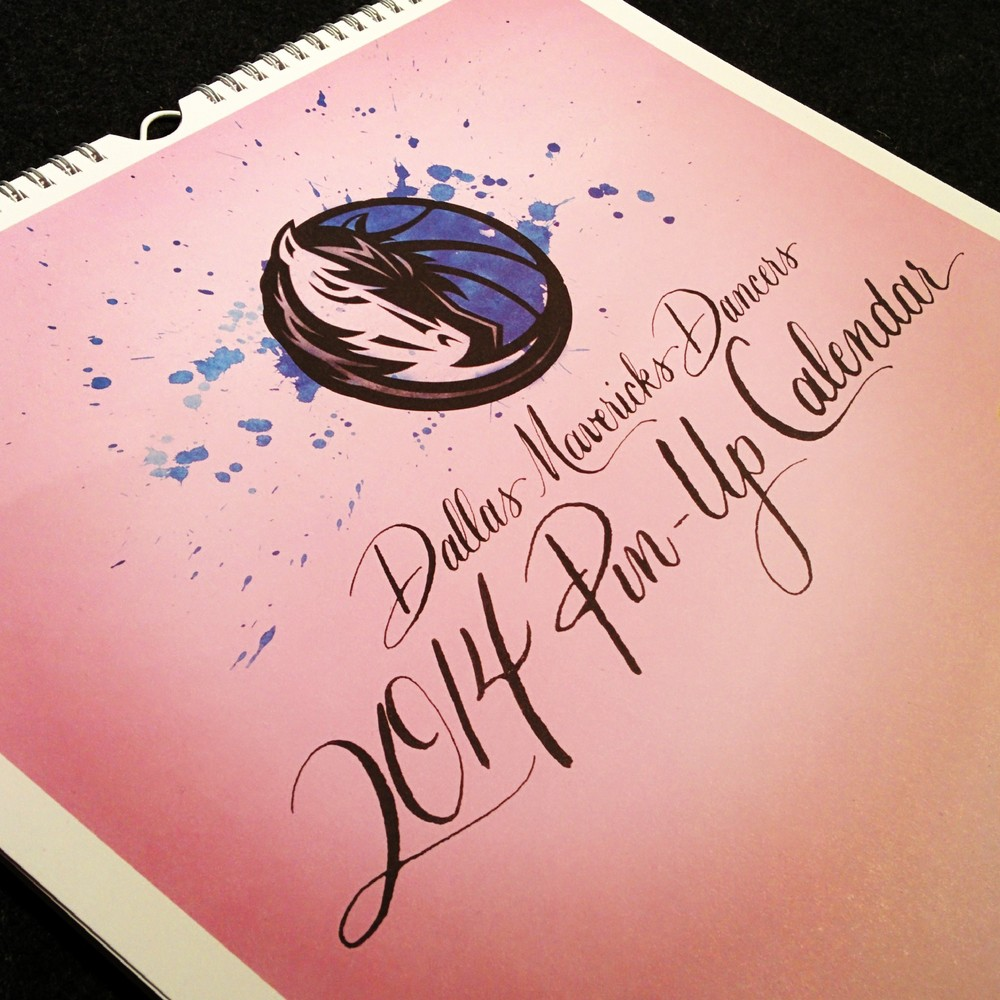 calligraphy-dallas-mavericks-dancer-calendar-cover.JPG