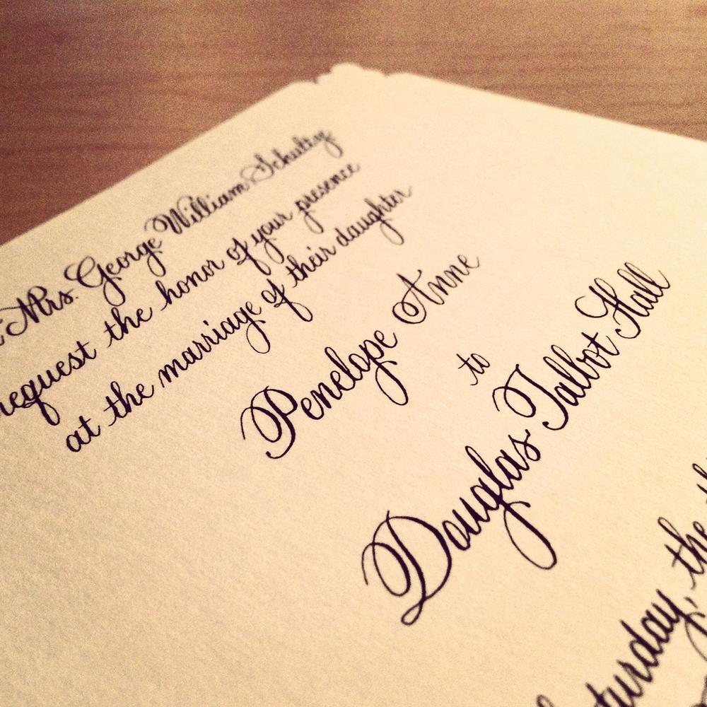 Calligraphy Lyndsay Wright Design Calligraphy Hand