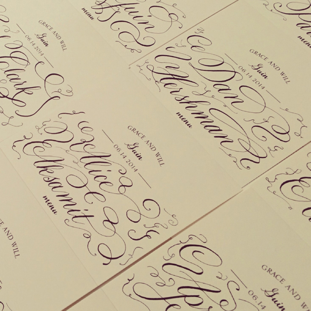 Lettering styles lyndsay wright design calligraphy