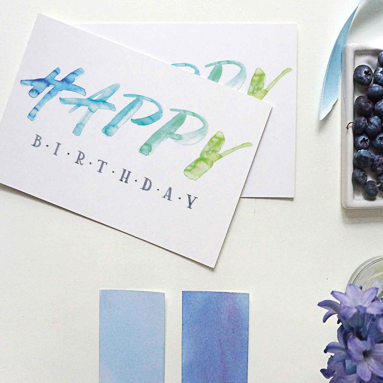 Happy Birthday Lyndsay Wright Design