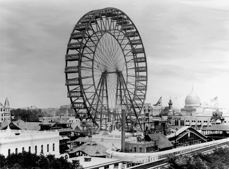 Ferris Wheel for the Chicago World's Fair