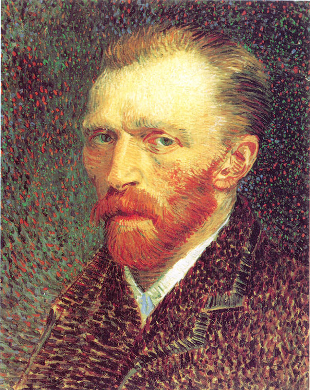 'Self Portrait' Post-Impressionist Vincent van Gogh