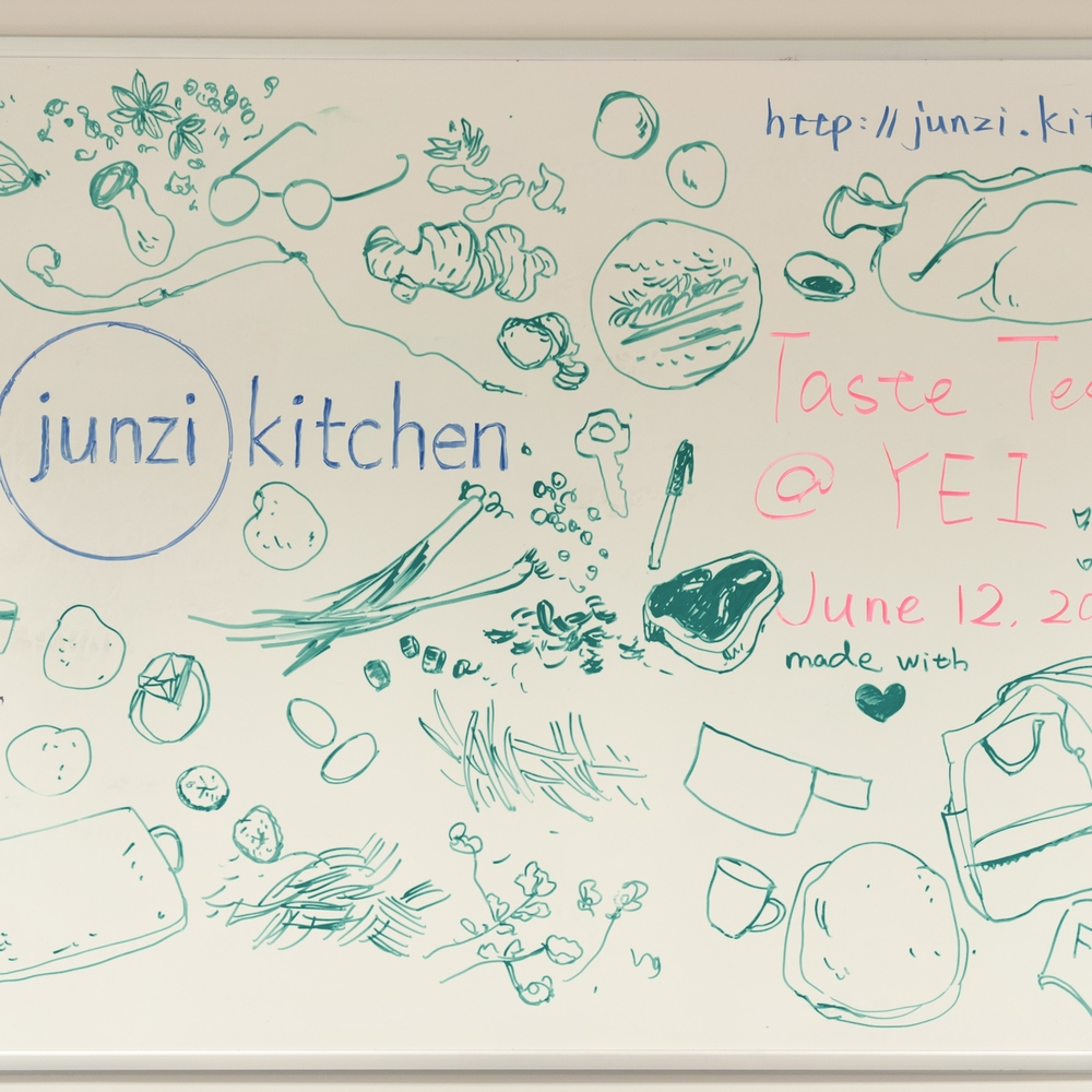 our white board in YEI