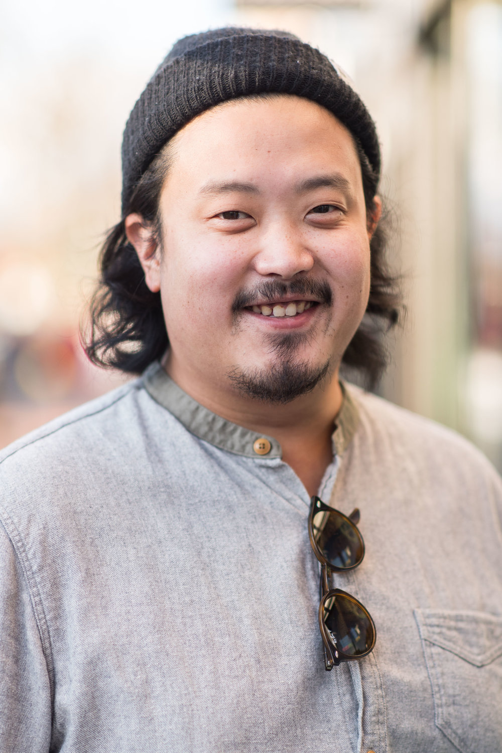 Andrew Chu, operations: Andrew grew up in Connecticut, managed a snowboard shop for eight years, and received a BA and MBA at Southern Connecticut State University