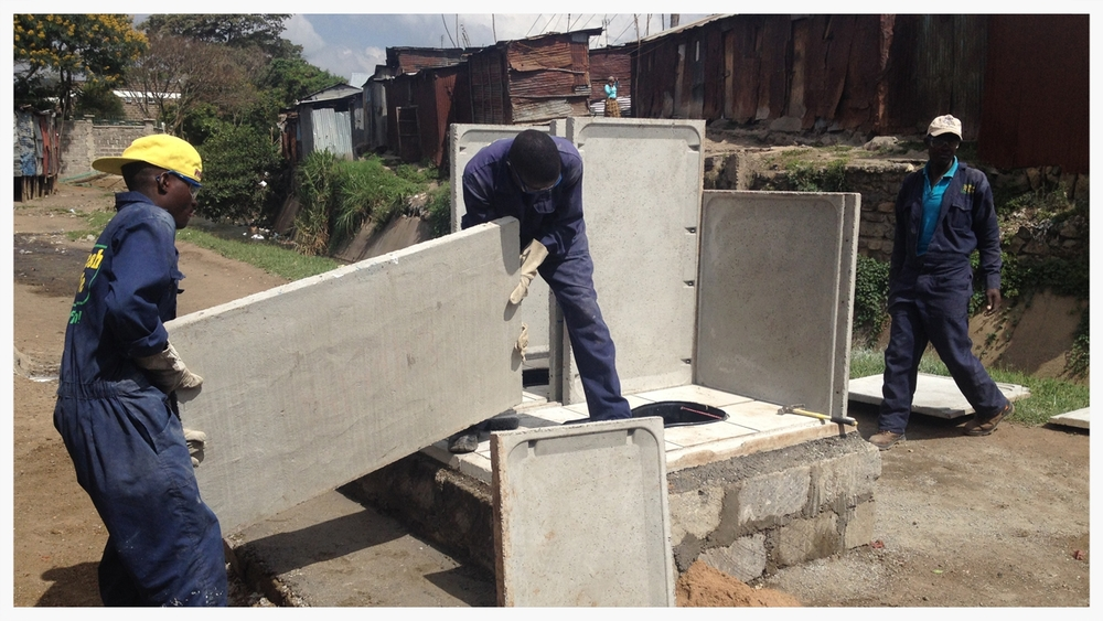 Installing Fresh Life toilets quickly and efficiently is the name of the game.