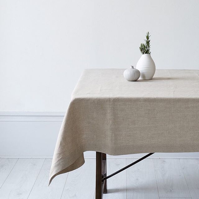 Launching next week: our new collection of table, kitchen and bed linen made of GOTS-certified organic linen. Read about our visit to the farms and journey to create this collection at ecosophy.co.uk/journal  photo: @yeshen.uk ⠀⠀⠀⠀⠀⠀⠀⠀⠀ #organiclinen #organictablelinen #organictablecloth #undyedlinen #undyed #organictable #organicflax