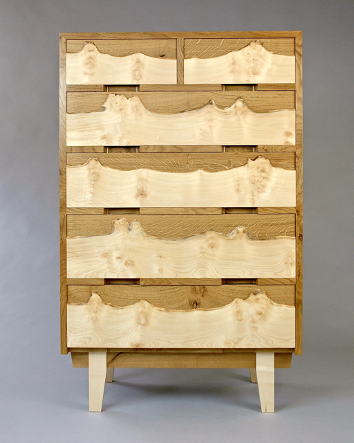 Riverside chest of drawers
