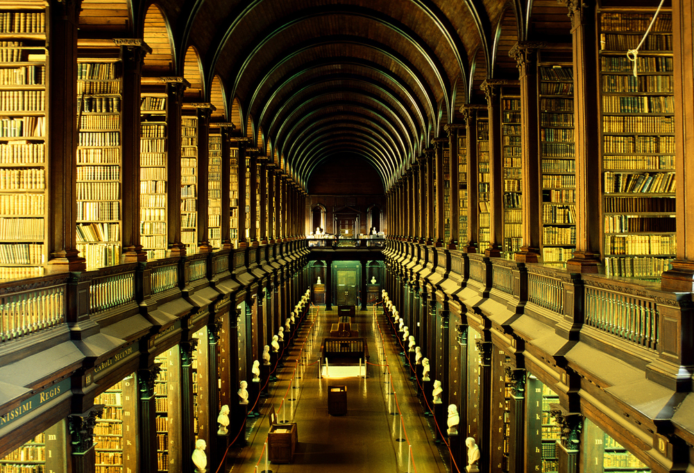 Our dream library - fully stocked with children's books, of course! Photo by Goodshoot/Goodshoot / Getty Images