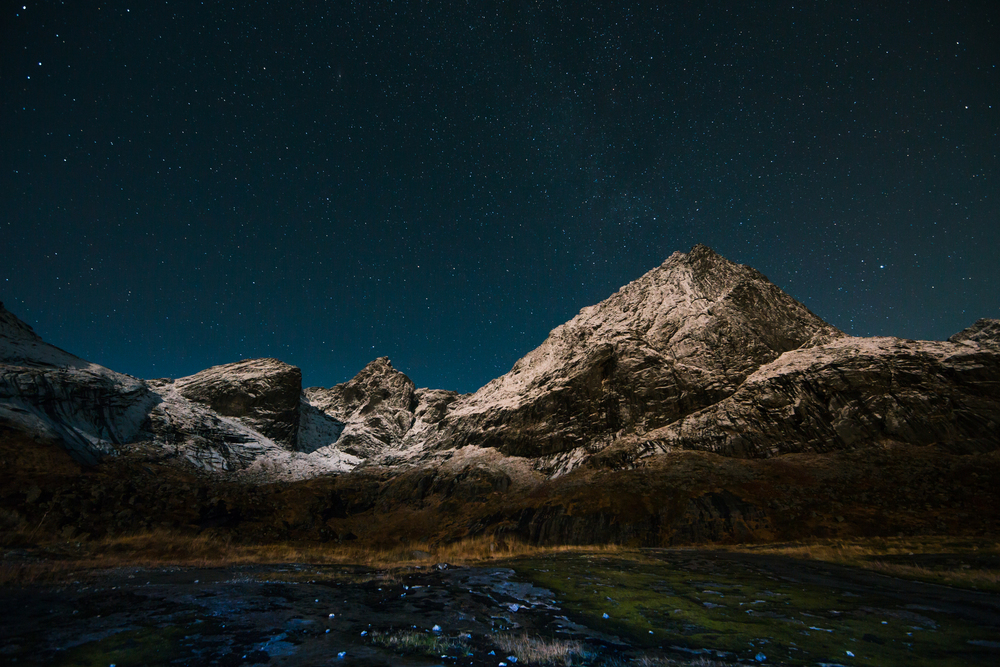 stars lofoten norway