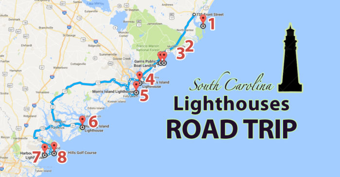 The Lighthouse Road Trip On The South Carolina Coast That's Dreamily Beautiful  Posted in  South Carolina  October 26, 2016 by  Robin Jarvis