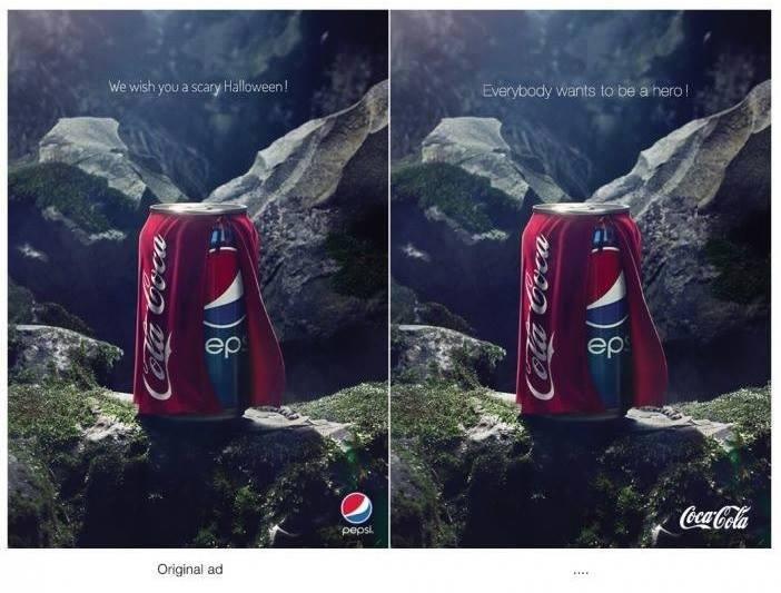 coco cola vs pepsi