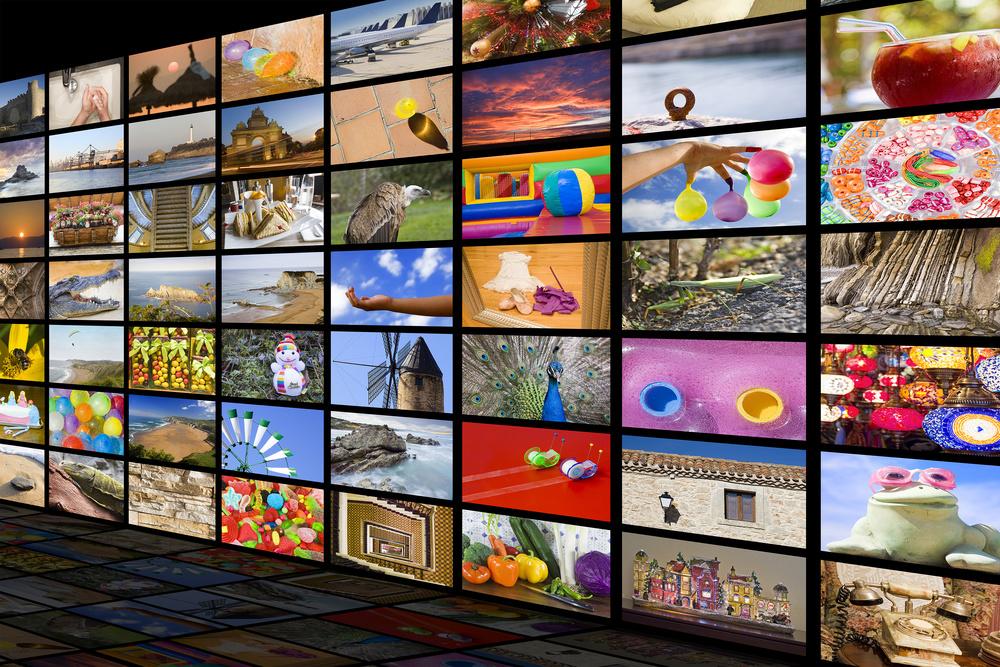 HDTV entertainment concept