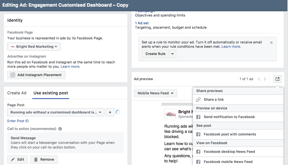 The Ultimate Facebook Ad Test — Bright Red Marketing - Gold Coast