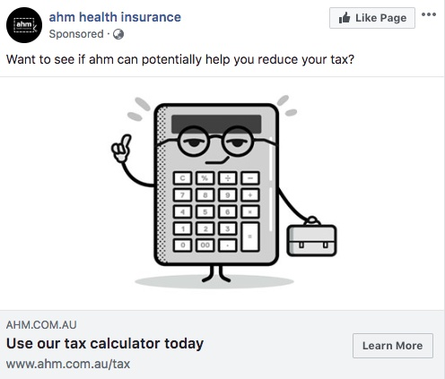 Ads-I-Love-AHM-Insurance-Tax-Facebook-Ad-BrightRedMarketing-Blog.jpg